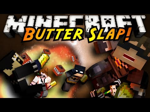 Minecraft Mini-Game : BUTTER SLAP! (NEW SERVER IN DESCRIPTION)