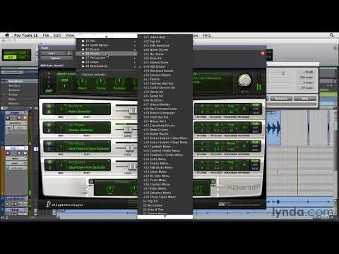 Pro Tools: How to convert drum transients to MIDI | lynda.com tutorial
