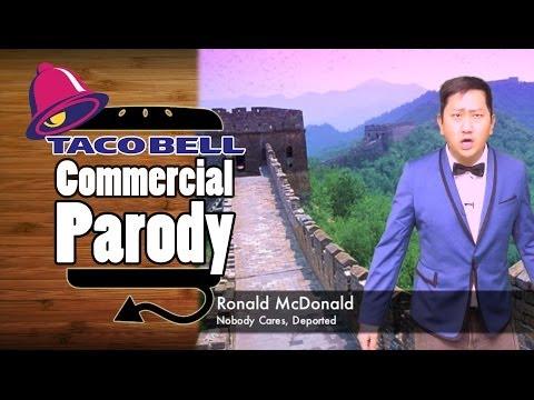 Taco Bell NEW Breakfast AM Crunchwrap Commercial Parody Spoof - HellthyJunkFood