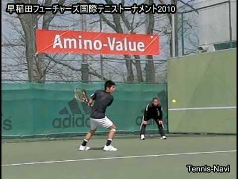 テニス 伊藤潤 早稲田フューチャーズ2010-大会初日