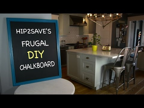 Frugal DIY Chalkboard
