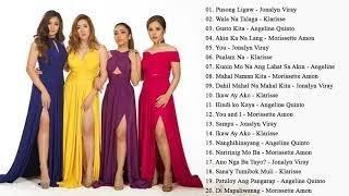 Angeline Morissette Jona Klarisse Opm Tagalog Love Songs 2018