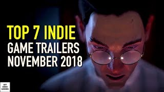 Top 7 Best Indie Game Trailers for November 2018