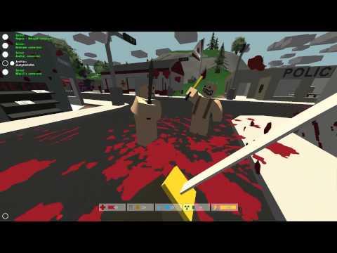 Zagrajmy w Unturned # 01 DayZ + Minecraft w CO OPie AvalkizHadesHatekameNoskill
