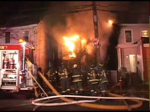 Raw video: Double fatal house fire in NJ
