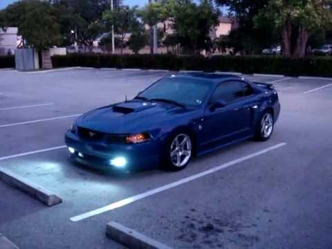 2004 mustang gt hid fogs youtube. Black Bedroom Furniture Sets. Home Design Ideas