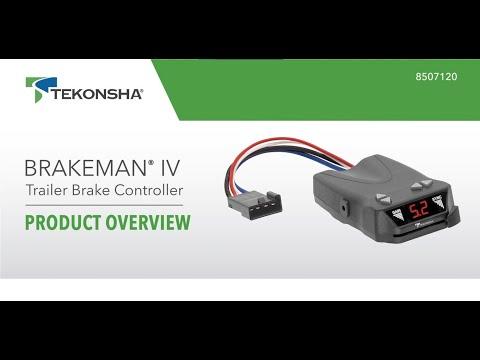 Tekonsha® Brakeman® IV Trailer Brake Controller | 8507120 | Product Overview