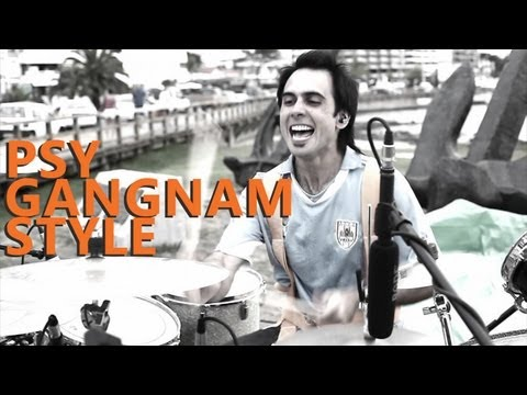 Gangnam Style Drum Cover - Psy - Fede Rabaquino Outdoor Series