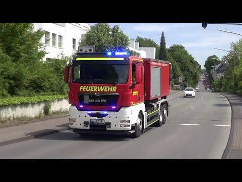 Neues WLF AB-Sonderlöschmittel Feuerwehr Wuppertal FW 1