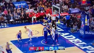 Portland Trail Blazers vs Philadelphia 76ers - Full Game Highlights - November 22, 2017
