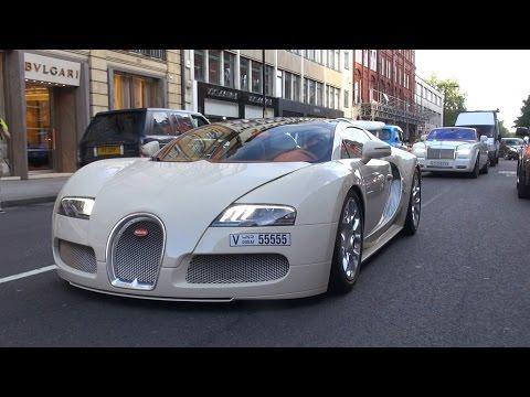 Bugatti Veyron 16.4 Grand Sport on the road in London