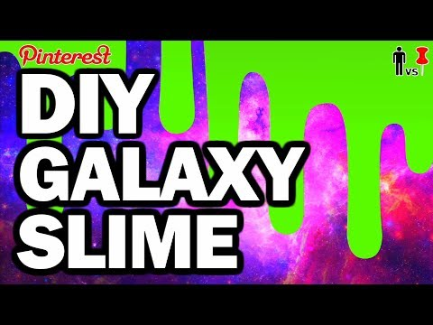DIY Galaxy Slime - Man Vs. Pin - Pinterest Test #40