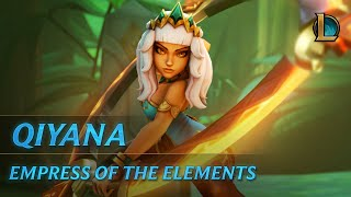 Qiyana: Empress of the Elements | Champion Trailer