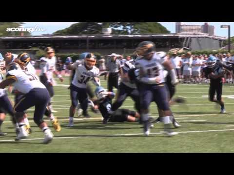 ScoringLive: Saint Francis vs. Punahou - Wayne Taulapapa, 9 yard run
