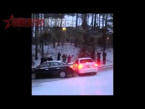 Atlanta snow 2014 BEST ACCIDENT COMPILATION January 29 SNOWLANTA