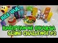 Kağıttan Ne Çıkarsa Slime Challenge #2 OLAY OLAY! Hileler Var!!! Slime Yarışması