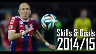 Arjen Robben  Dribbling Skills  Goals  20142015