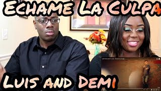 Download Lagu Luis Fonsi, Demi Lovato - Échame La Culpa | Couple Reacts Gratis STAFABAND