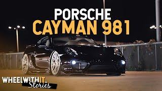 Jak wywołać kontrowersje - Porsche Cayman 981 na Air Ride | Wheel with it. Stories S01E03