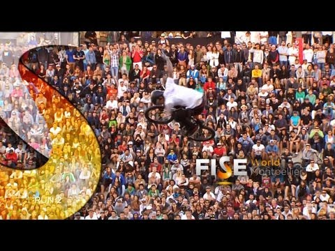 Logan Martin - 1st Final BMX Park - FISE World Montpellier 2013