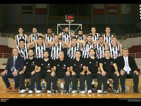 PAOK BASKETBALL  SEASON 2013-2014 ROSTER