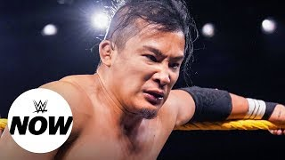 Kushida re-injured after battle with WALTER: WWE Now, Oct. 10, 2019