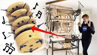 Testing The Mechanical Rhythm Machine Marble Machine X 55