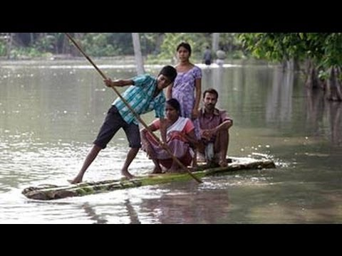 Half of Assam under water, 18 dead, Chief Minister Gogoi tours Japan