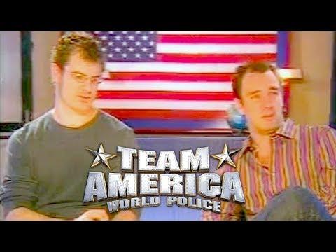 Trey Parker & Matt Stone - Comedy Central PROMOS & INTERVIEWS For Team America: World Police - 2004
