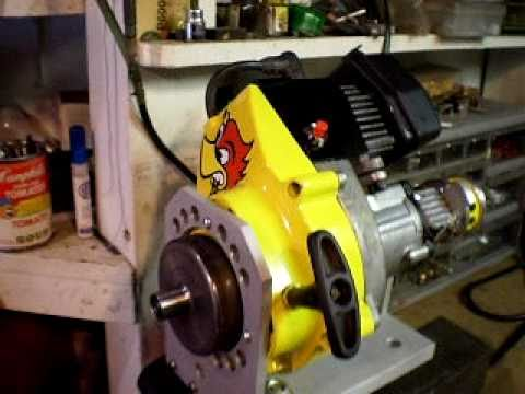 Custom Sears 30CC WeedEater Motor