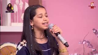 طفلة كويتية صوتها ساحر 😍😳
