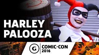 Harley Quinn Cosplay at Comic-Con 2016