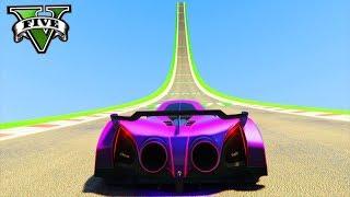 GTA V Online: PRIMEIRA MEGA RAMPA com NOVO SUPER TRON!!! ($2,000,000)