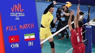 CHINA vs. IRAN -  Highlights Men | Week 1 | Volleyball Nations League 2019