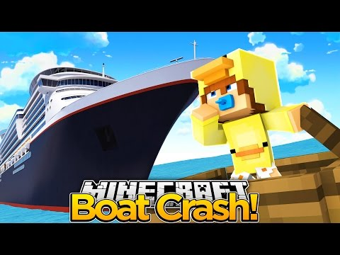 Minecraft Roleplay - BABY DUCK IS IN A BOAT CRASH