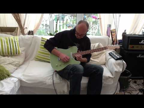 Miami Vice Telecaster review, Joe Barden Danny Gatton Pickups, Warmoth Neck, Babicz Bridge