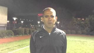 MSOC Georgia State Post Game Interview