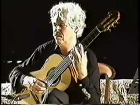 Hubert KAPPEL, CORFU FESTIVAL, plays Leo Brouwer