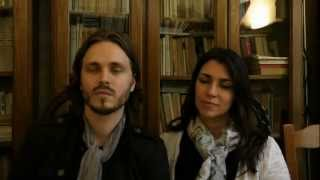 Jonathan and Elisa Jackson interviewed in Paris by Andreea Ionescu for Apostolia.tv