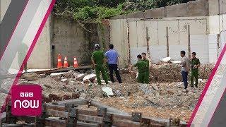 Bình Dương: Sập tường nhà xưởng, 2 công nhân tử vong