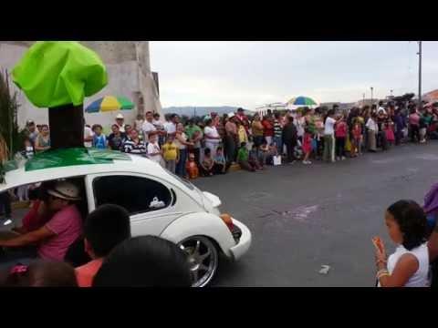 Desfile de Primavera en Yuriria Guanajuato 2014