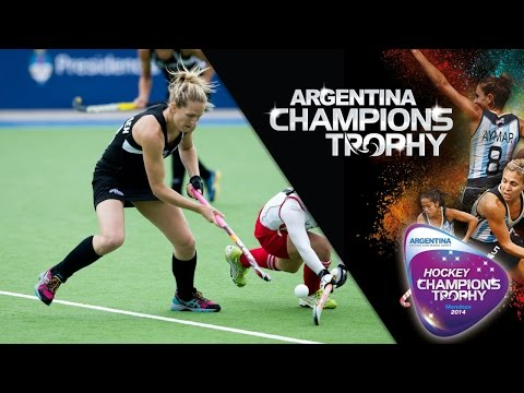 New Zealand vs Japan - Women's Hockey Champions Trophy 2014 Argentina Group A [29/11/2014]