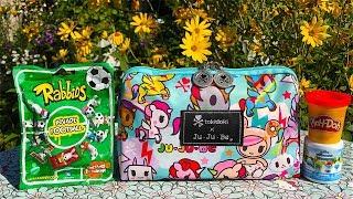 Ju-Ju-Be Tokidoki Unikikki Toy Surprise Bags Play Doh Hello Kitty Smurfs Rabbids