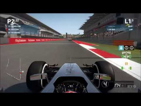 F1 2014 - Circuit Of The Americas Austin Texas | United States Grand Prix Gameplay (PC HD) [1080p]