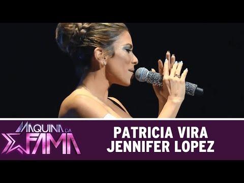 Máquina da Fama (25/05/15) - Patricia Abravanel vira Jennifer Lopez