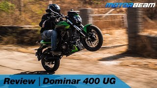2019 Bajaj Dominar 400 UG Review - Is It Still Value For Money? | MotorBeam