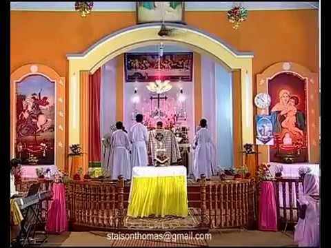 Malayalam  Holy Qurbana By Fr Aji Puthoor video