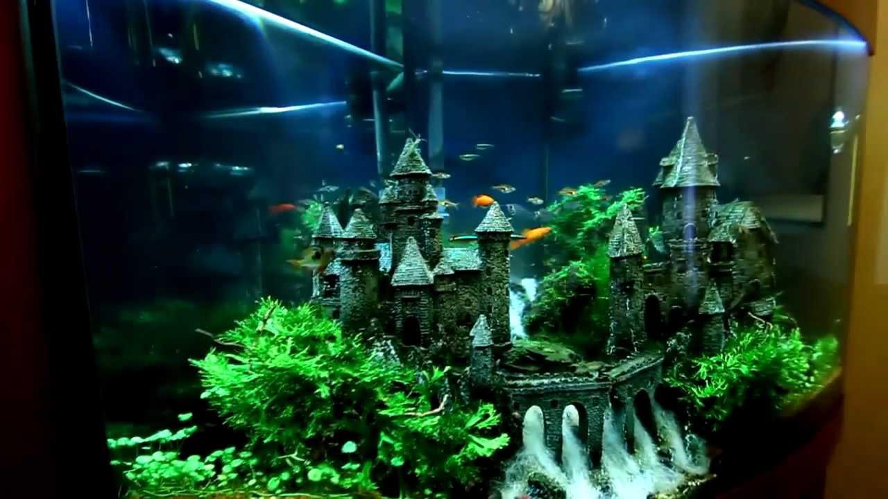 Как сделать замок в аквариуме своими руками 744