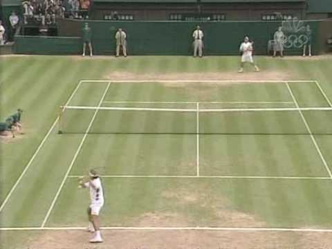 Roger Federer Grass Court Masterclass vs Roddick Wimby '03 SF Video