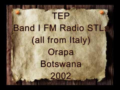 TEP STLs  Orapa Botswana 2002